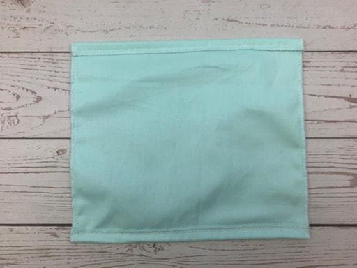 Coudre un masque de protection en tissu  - Ourlet simple piqué