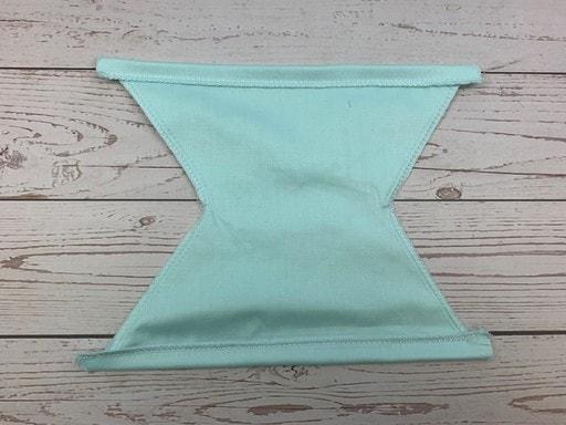 Coudre un masque de protection en tissu - ourlet les bords