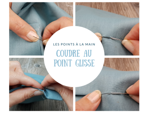 Les points à la main - le point glissé